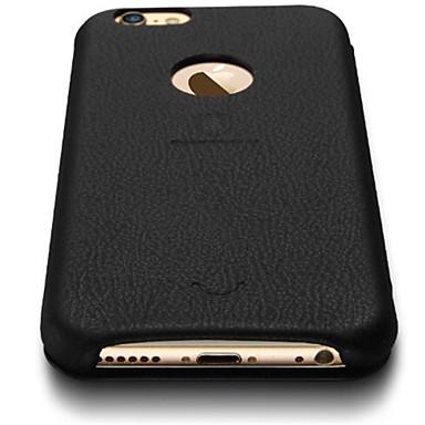 용 아이폰6케이스 / 아이폰6플러스 케이스 카드 홀더 / 플립 케이스 뒷면 커버 케이스 단색 하드 인조 가죽 아이폰 7 플러스 / 아이폰 (7) / iPhone 6s Plus/6 Plus / iPhone 6s/6 / iPhone SE/5s/5