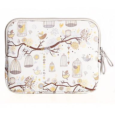 맥북 에어 11.6 / 13.3 맥북 12 맥북 프로 / 13.3에 대한 자유의 새 디자인 캔버스 노트북 슬리브 가방 케이스