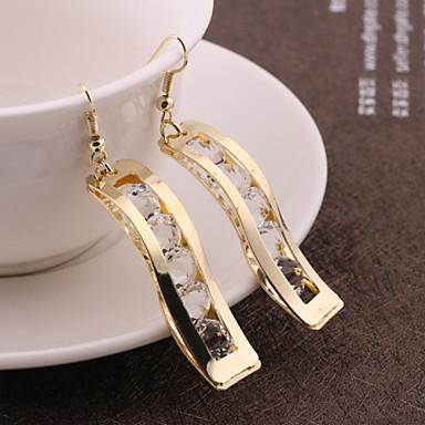 Dames Druppel oorbellen Kostuum juwelen Legering Sieraden Voor Bruiloft Feest Dagelijks Causaal