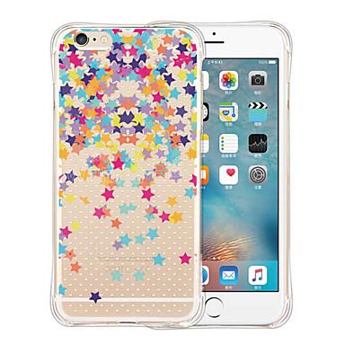 용 아이폰5케이스 케이스 커버 투명 패턴 뒷면 커버 케이스 카툰 소프트 실리콘 용 iPhone SE/5s iPhone 5
