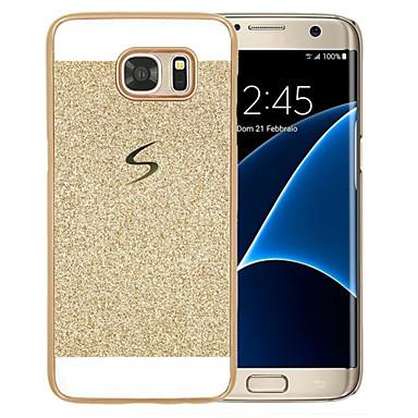 Недорогие Чехлы и кейсы для Galaxy S3-Кейс для Назначение SSamsung Galaxy S8 Plus / S8 / S6 edge plus С узором Кейс на заднюю панель Сияние и блеск Твердый ПК