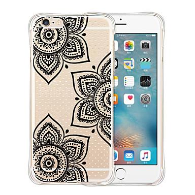 Mert iPhone 6 tok / iPhone 6 Plus tok Ütésálló / Átlátszó / Minta Case Hátlap Case Rajzfilmfigura Puha SzilikoniPhone 6s Plus/6 Plus /