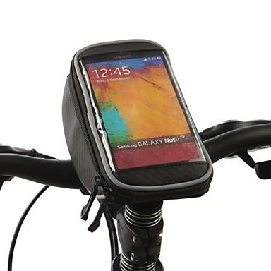 ROSWHEEL Kormánytáska Cell Phone Bag 4.2 hüvelyk Vízálló Gyors szárítás Érintőképernyő Kerékpározás mert iPhone 5/5s Iphone 5 C Egyéb
