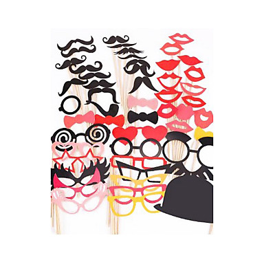 결혼식 / 기념일 / 약혼 / 댄스 파티 / 웨딩파티 하드 카드 용지 혼합 재료 웨딩 장식 클래식 테마 사계절