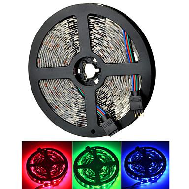 4000lm 300xsmd 5050 marsing 50w 앰프 / w (12V / 5m) RGB 빛 스트립을 주도