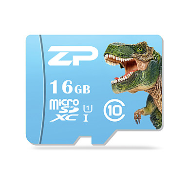 ZP 16 GB Micro SD kártya TF kártya Memóriakártya UHS-I U1 Class10