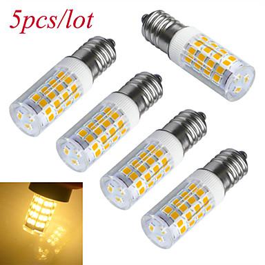 6000-6500/3000-3200 lm E14 LED kukorica izzók T 51 led SMD 2835 Dekoratív Meleg fehér Hideg fehér AC 220-240V