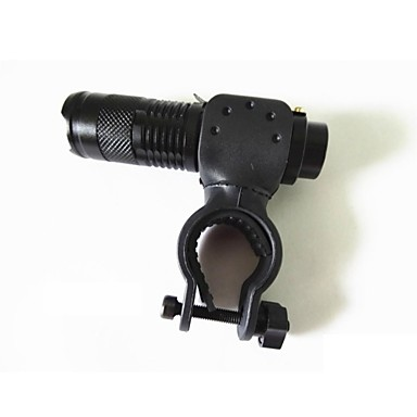 SK68 LED zseblámpák LED 2000 lm 1 Mód Cree XR-E Q5 Nagyítható Állítható fókusz Ütésálló Vízálló High Power Strike keret Csat Sürgősségi