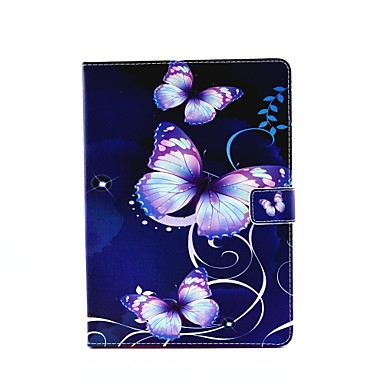 személyiség festett pu bőr flip-shell oldaltáska ipad air3 / ipad pro mini