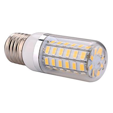 YWXLIGHT® 1pc 12 W 1200 lm E14 / E26 / E27 LED klipaste žarulje T 56 LED zrnca SMD 5730 Toplo bijelo / Hladno bijelo 220-240 V / 110-130 V / 1 kom.