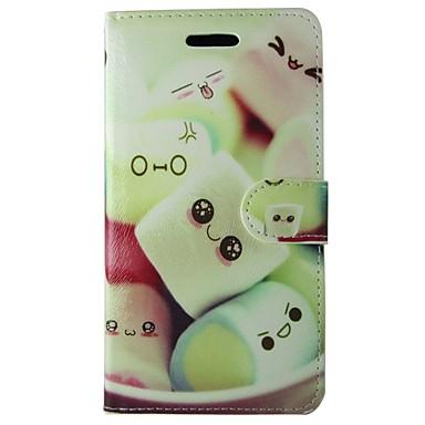 용 삼성 갤럭시 케이스 카드 홀더 / 지갑 / 스탠드 / 플립 / 패턴 케이스 풀 바디 케이스 카툰 인조 가죽 Samsung S7 / S6 edge / S6 / S5 Mini / S5 / S4 Mini / S4 / S3 Mini / S3
