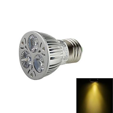 E26/E27 LED szpotlámpák BA 3 led Nagyteljesítményű LED Dekoratív Meleg fehér 3000lm 3000KK AC 110-130 AC 85-265 AC 220-240 AC 100-240V