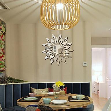 패션 Fantasy 3D 벽 스티커 거울 벽스티커 데코레이티브 월 스티커 웨딩 스티커, PVC 홈 장식 벽 데칼 벽