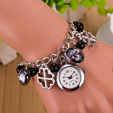 pentru Doamne Ceas Sport Ceas Elegant Ceas La Modă Ceas de Mână Quartz Aliaj Bandă Charm Multicolor Alb Negru Mov Galben Rosu