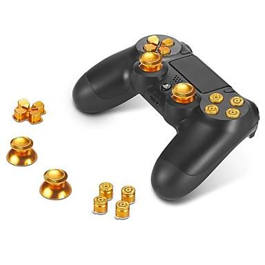 P4-GPA001 PS / 2 Kits de Peças de Reposição para Controladores de Jogos Para PS4 / Sony PS4 ,  Novidades Kits de Peças de Reposição para Controladores de Jogos Alumínio / Metal 1 pcs unidade