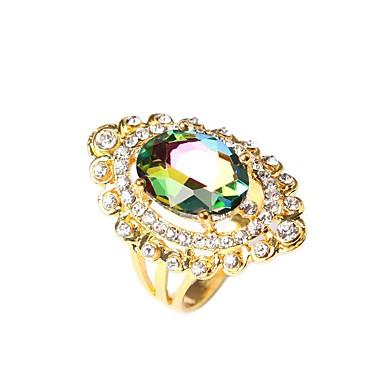 Dames Statement Ring Modieus Verzilverd Kostuum juwelen Feest