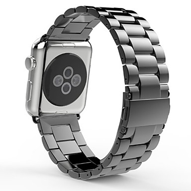 Παρακολουθήστε Band για Apple Watch Series 4/3/2/1 Apple πεταλούδα πόρπης Ανοξείδωτο Ατσάλι Λουράκι Καρπού