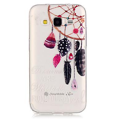 제품 삼성 갤럭시 케이스 케이스 커버 투명 뒷면 커버 케이스 포수 드림 TPU 용 Samsung Galaxy Grand Prime Core Prime
