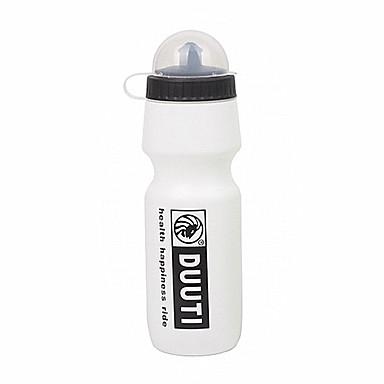 duuti 750ml plastic alb ușor de purtat cu bicicleta cald păstrarea sticla de apa