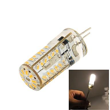 3W G4 LED Bi-pin 조명 T 57 SMD 3014 150 lm 따뜻한 화이트 장식 DC 12 V 1개