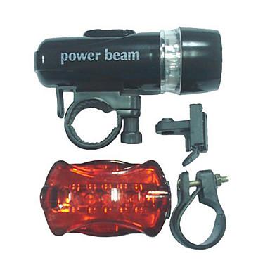 Kerékpár világítás Kerékpár első lámpa Kerékpár hátsó lámpa LED - Kerékpározás Könnyű AAA 100 Lumen AkkumulátorBattery Kerékpározás