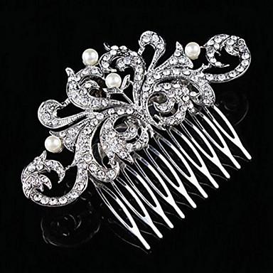 ezüst kristály gyöngy haj fésűk násznép hölgy ékszerek
