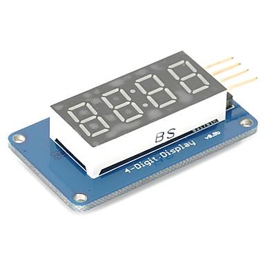 4 bit digitális cső LED kijelző modul órakijelzőjének tm1637 az Arduino Raspberry Pi
