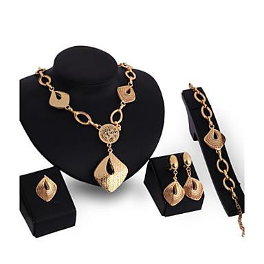 Γυναικεία Σετ Κοσμημάτων Κοσμήματα Βίντατζ Σέξι Euramerican Κοσμήματα με στυλ Μοντέρνα Πάρτι Γενέθλια Οικιακής σίτισης Επιχρυσωμένο Κράμα