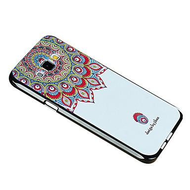 용 삼성 갤럭시 케이스 패턴 케이스 뒷면 커버 케이스 꽃장식 TPU Samsung A8