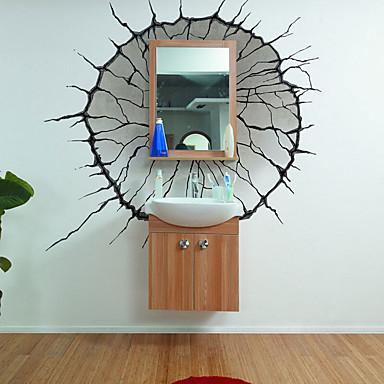 데코레이티브 월 스티커 - 3D 월 스티커 Words & Quotes 거실 / 침실 / 다이닝룸 / 이동가능