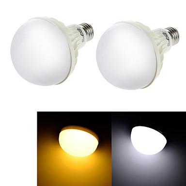 E26/E27 LED 글로브 전구 C35 15 LED가 SMD 5630 장식 따뜻한 화이트 차가운 화이트 3000/6000lm 3000K/6000K AC 220-240V