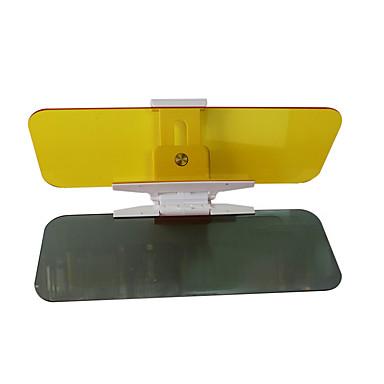 2 db 32 * 12 * 0.2cm akril éjjel-nappal a kettős felhasználású autó napernyő tükröződésmentes tükör bámészkodik