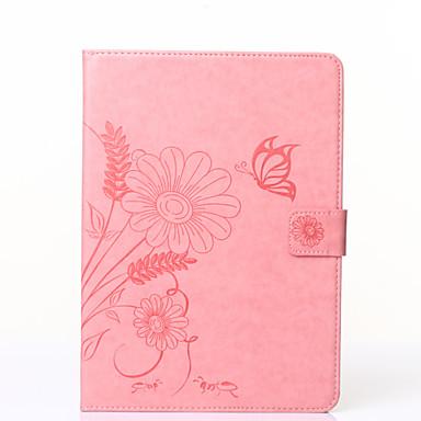 pillangó virágmintás pu bőr védőtok Galaxy Tab T110 / T230 / T530 / T560 / T710 / T810 (vegyes színek)