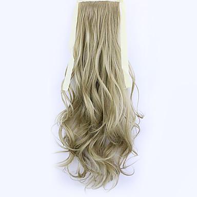 아마 길이 50cm 공장 직접 판매 바인드 유형 컬 말 꼬리 머리 포니 테일 (색상 16)
