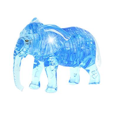 조립식 블럭 직쏘 퍼즐 크리스탈 퍼즐 장난감 코끼리 잡다한 것 41 조각