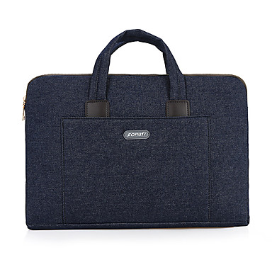 fopati® 15 colos laptop táska / zsák / hüvely lenovo / mac / samsung fekete / kék / szürke