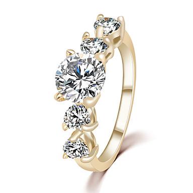 للمرأة ذهبي مكعبات زركونيا سبيكة أميرة موضة زفاف حزب مجوهرات
