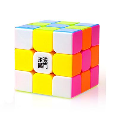 루빅스 큐브 YongJun 3*3*3 부드러운 속도 큐브 매직 큐브 퍼즐 큐브 전문가 수준 속도 광장 새해 어린이날 선물