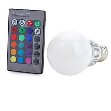 E26/E27 Slimme LED-lampen T 1 LEDs COB Op afstand bedienbaar Decoratief RGB 100-200lm NILK AC 85-265V
