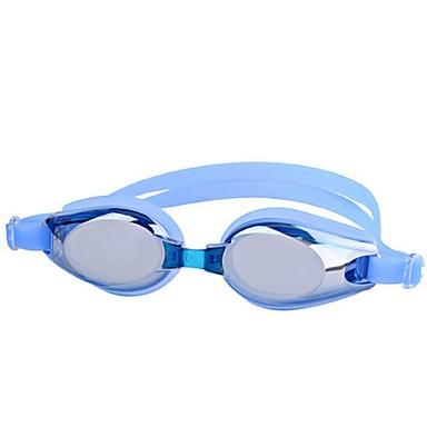 Úszás Goggles Páramentesítő Törhetetlen Vízálló Ipari gyanta PC Szürke Fekete Kék Világos rózsaszín N/A