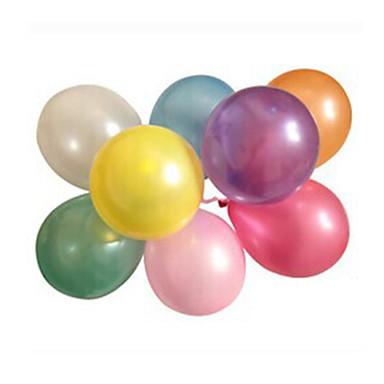 100pcs/lot Lateks Helyum Inflable kalınlaşma İnci Düğün ya da Doğum Günü Partisi Balon