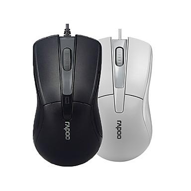 orginal 한 rapoo의 n1162 마우스의 USB를 컴퓨터 pc 사무실 블랙 / 화이트 2.0 프로 게이밍 마우스 광 마우스를 유선