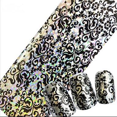 1 Nail Art matrica Körömfestés tippek Absztrakt Rajzfilmfigura Esküvő Szeretetreméltő smink Kozmetika Nail Art Design