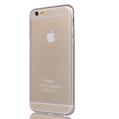 케이스 제품 Apple iPhone 6 iPhone 6 Plus iPhone 7 Plus iPhone 7 투명 뒷면 커버 한 색상 소프트 TPU 용 iPhone 7 Plus iPhone 7 iPhone 6s Plus iPhone 6s iPhone