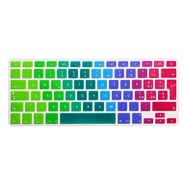 SoliconeKeyboard Cover For13.3'' / 15.4'' Macbook Pro Retina / MacBook Pro / Macbook Air Retina / MacBook Air