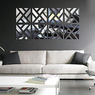 레져 벽 스티커 거울 벽스티커 데코레이티브 월 스티커,PVC 자료 이동가능 홈 장식 벽 데칼