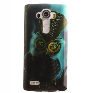 용 LG케이스 패턴 케이스 뒷면 커버 케이스 부엉이 소프트 TPU LG LG G4 / LG G3 Beat / G3 Mini / Other