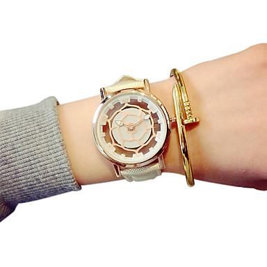 커플용 패션 시계 석영 중공 판화 캐쥬얼 시계 PU 밴드 블랙 화이트 블루 레드