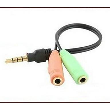 3.5mm의 오디오 잭 3.5mm의 오디오 잭 to 3.5mm의 오디오 잭 0.05 M (0.15Ft)
