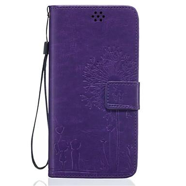 Mert Samsung Galaxy tok Pénztárca / Kártyatartó / Állvánnyal / Flip / Dombornyomott Case Teljes védelem Case Mandala Puha Műbőr Samsung